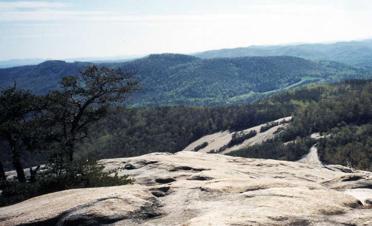 stone mountain nc trails